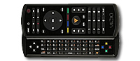 Vizio keyboard remote control